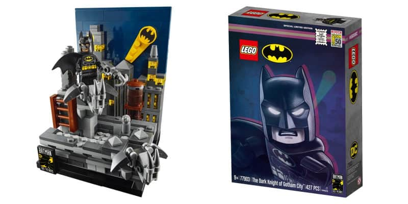 Most Expensive Lego Sets - Limited Edition Batman Announcement Set