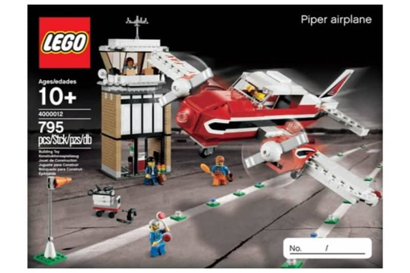 Most Expensive Lego Sets - Piper Airplane (LEGO Inside Tour Exclusive 2012 Edition)