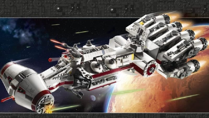 Most Expensive Lego Sets - Rebel Blockade Runner