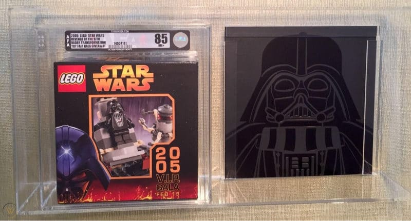 Most Expensive Lego Sets - Star Wars V.I.P. Gala Set (Vader)