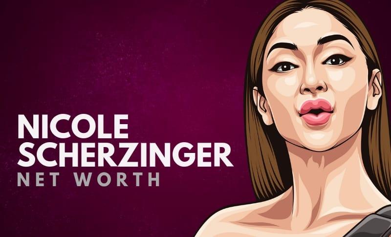 Nicole Scherzinger's Net Worth