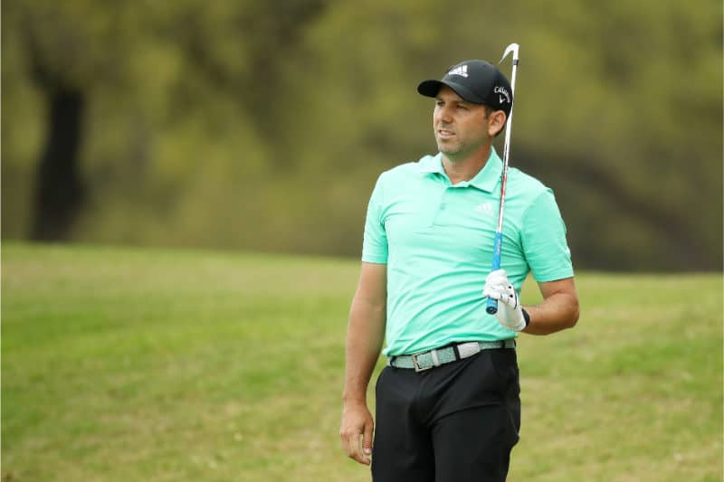 Richest Golfers - Sergio Garcia