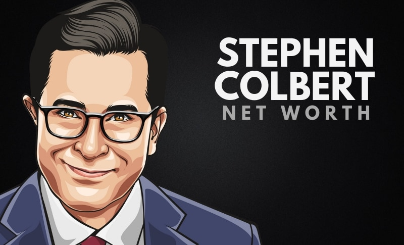 Stephen Colbert's Net Worth