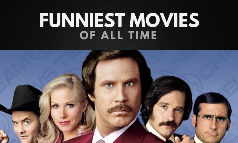 The Funniest Movies of All Time