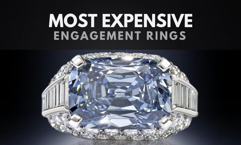 The 20 Most Expensive Engagement Rings In The World 2020
