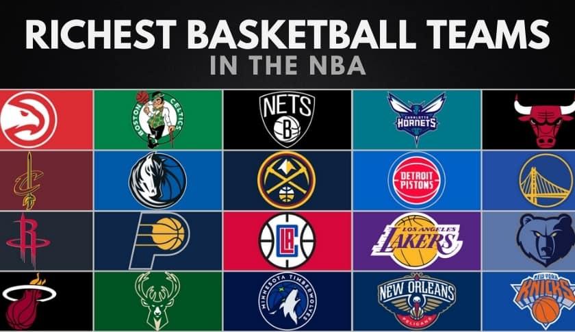 The 20 Richest NBA Teams