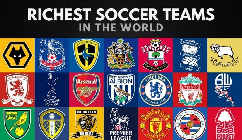 The 20 Richest Soccer Teams