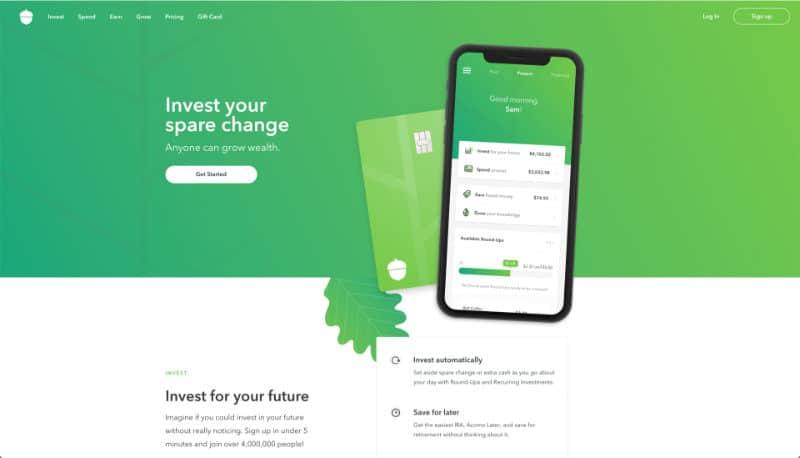 Best Investment Apps - Acorn