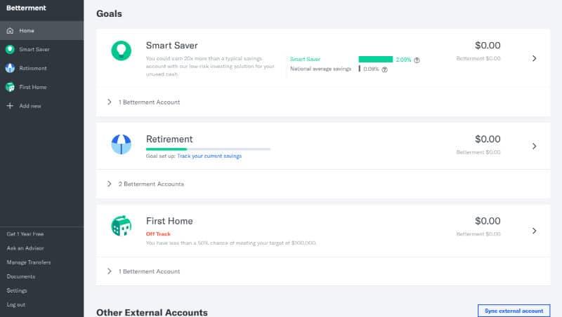 Best Investment Apps - Betterment