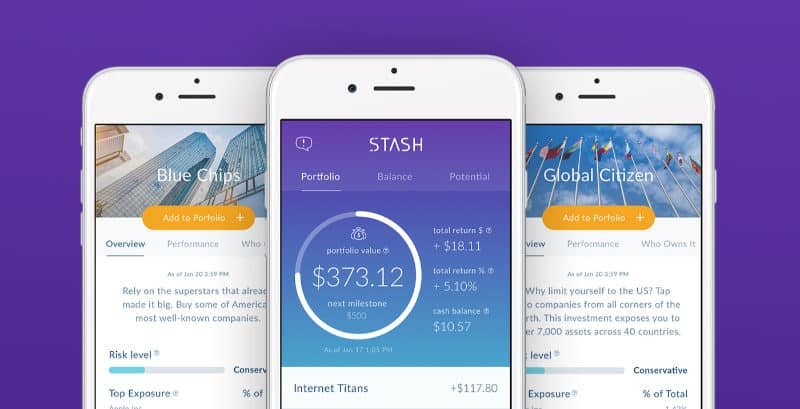 Best Investment Apps - Stash
