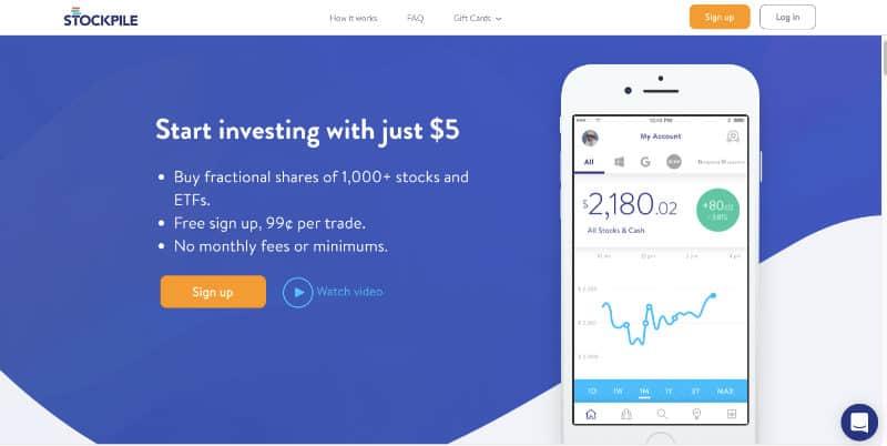 Best Investment Apps - Stockpile