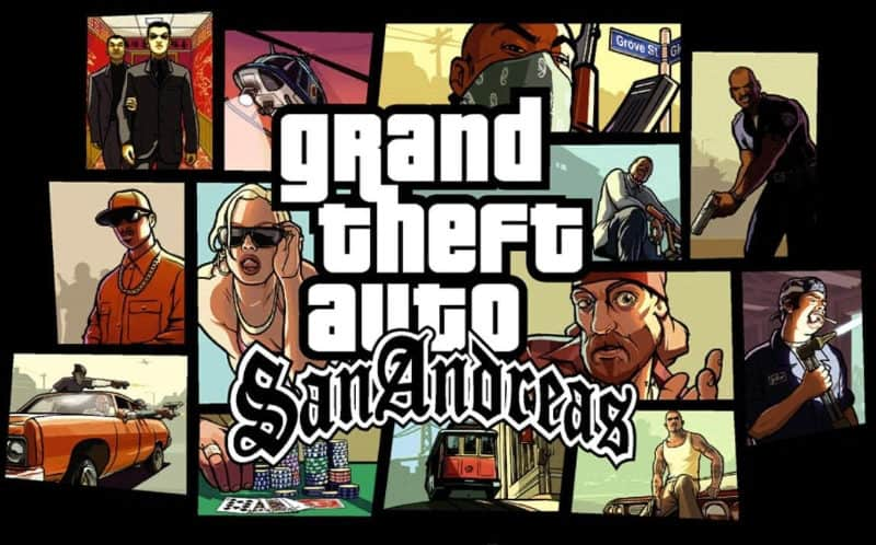 Most Popular Video Games - Grand Theft Auto San Andreas