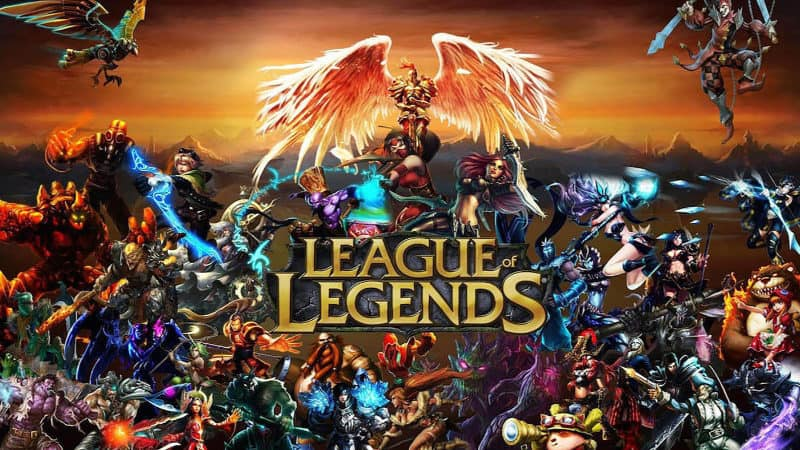 Most Popular Video Games - League of Legends