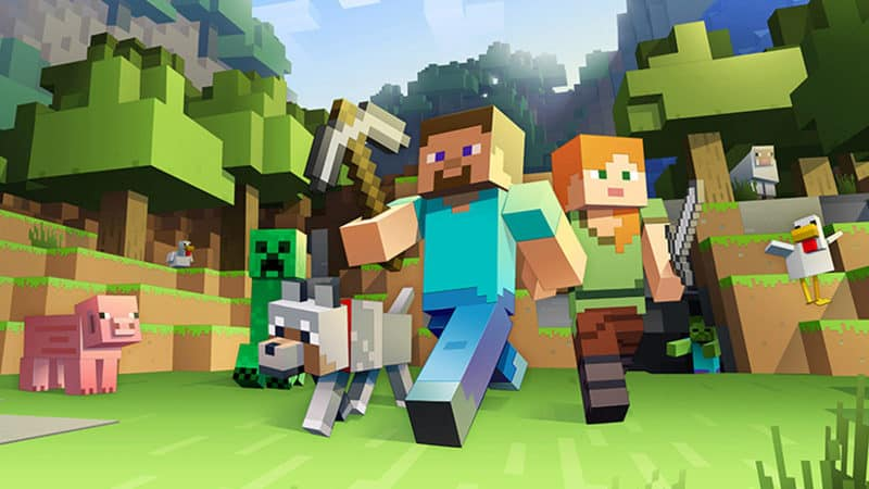 Most Popular Video Games - Minecraft