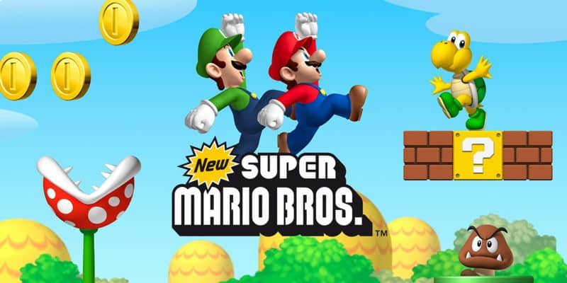 Most Popular Video Games - New Super Mario Bros
