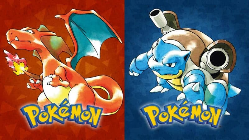 Most Popular Video Games - Pokemon Red, Blue & Yellow