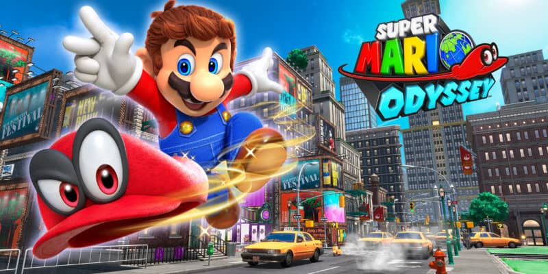Most Popular Video Games - Super Mario Odyssey