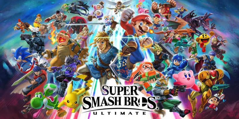 Most Popular Video Games - Super Smash Bros- Ultimate