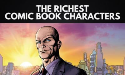 The Richest Comic Book Characters in the World