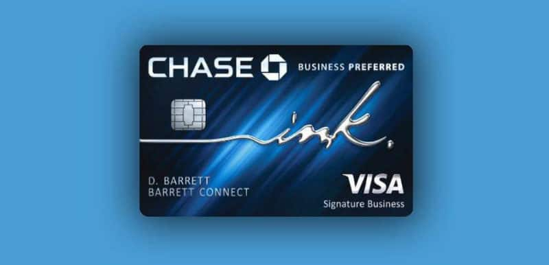 Best Credit Cards - Chase Ink Business Preferred