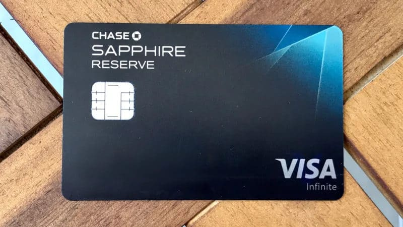 Best Credit Cards - Chase Sapphire Reserve
