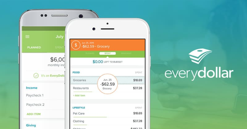 Best Personal Finance Apps - everydollar
