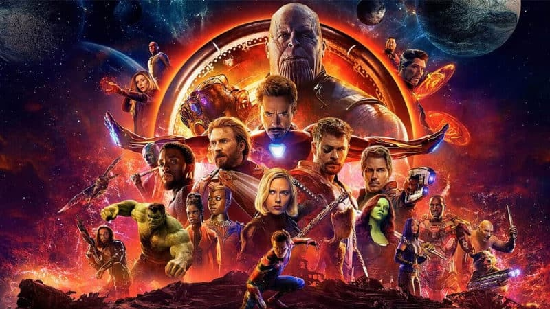 Highest-Grossing Movies - Avengers Infinity War