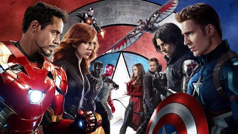 Highest-Grossing Movies - Captain America Civil War