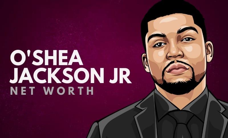 O'Shea Jackson Jr's Net Worth