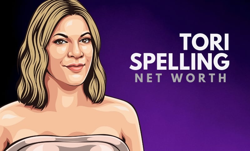 Tori Spelling's Net Worth