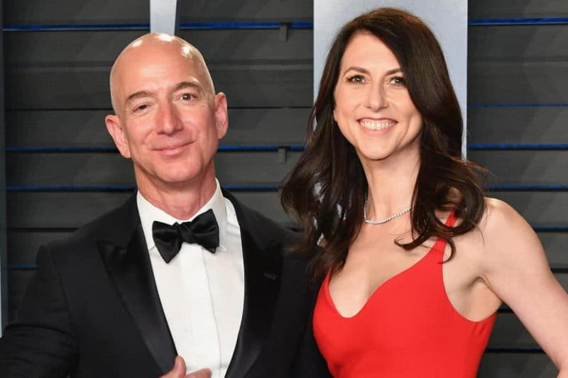 Most Expensive Divorces - Jeff and MacKenzie Bezos