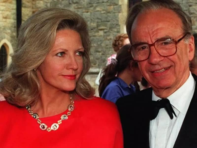 Most Expensive Divorces - Rupert Murdoch and Anna Torv