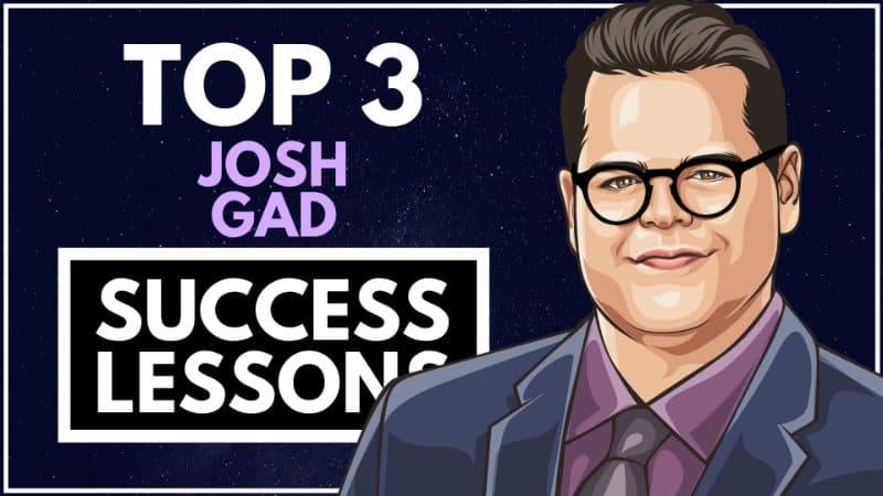 Josh Gad Success Lessons