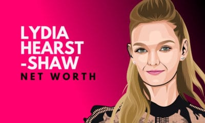 Lydia Hearst-Shaw's Net Worth