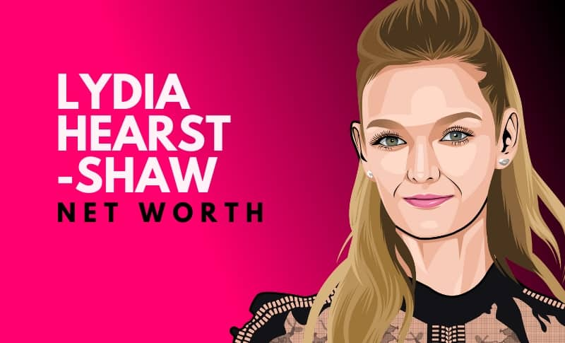 Lydia Hearst-Shaw's Net Worth