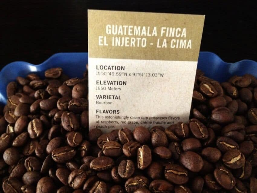 Most Expensive Coffees - Finca El Injerto