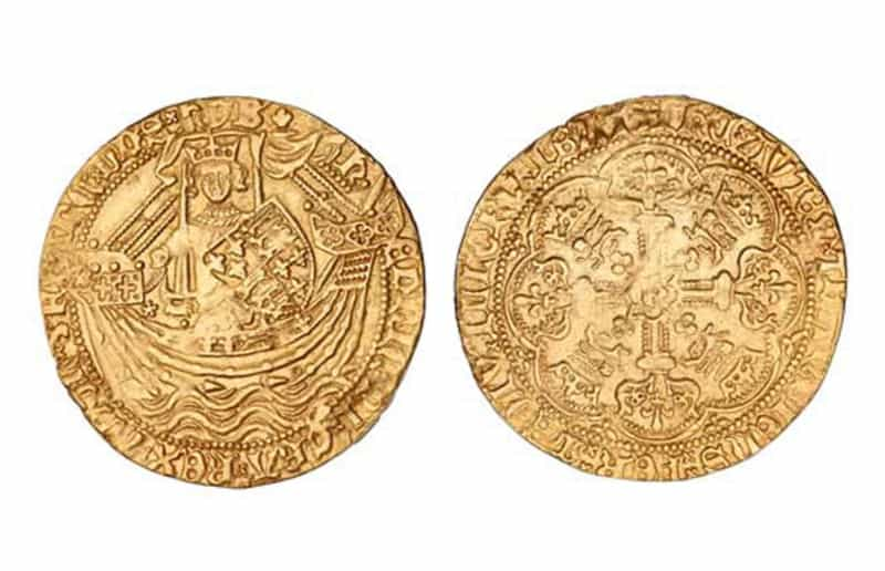 Most Expensive Coins - Edward III Florin (1343)