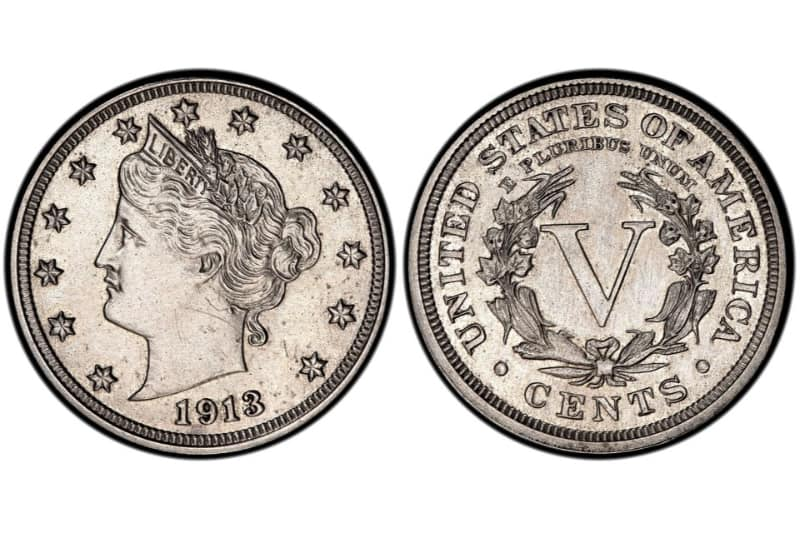 Most Expensive Coins - Liberty Head Nickel - 1913 - Hawai Five-O Star
