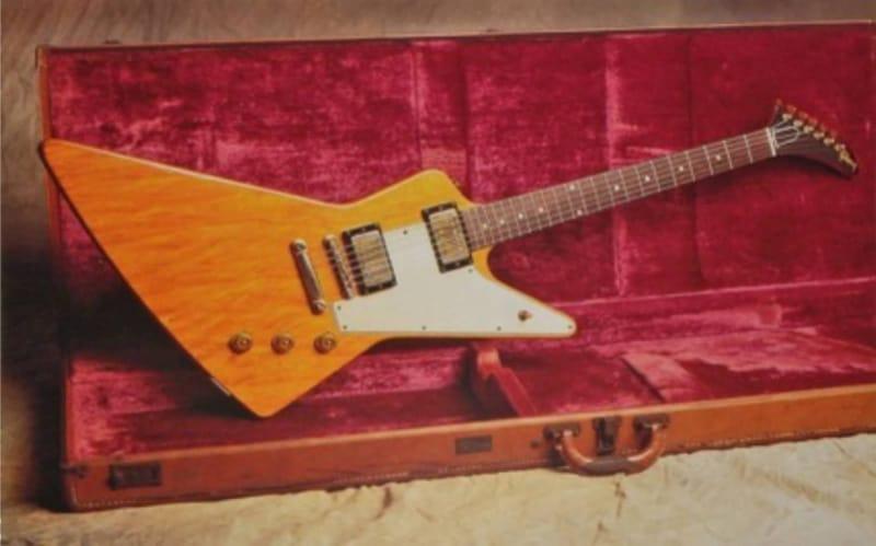 Most Expensive Guitars - 1958 Gibson Korina Explorer - $1.1 Million