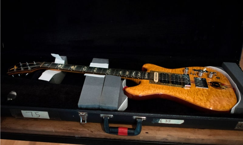 Most Expensive Guitars - Jerry Garcia's Wolf