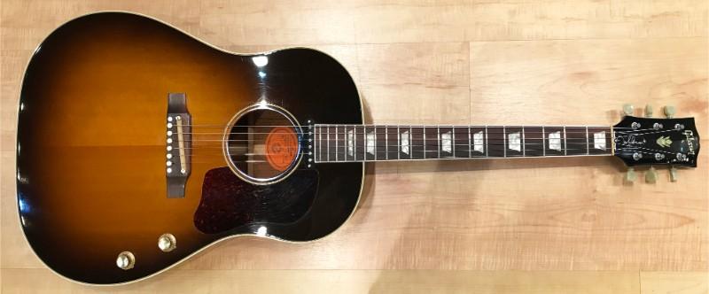 Most Expensive Guitars - John Lennon's 1962 Gibson J-160E Acoustic-Electric