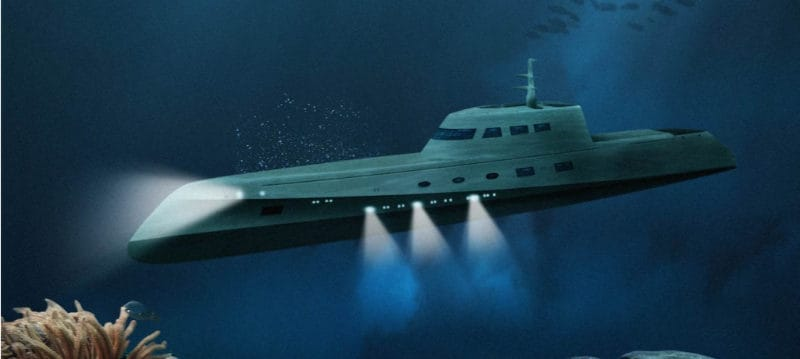 Most Expensive Hotels - Luxury Submarine Hotel