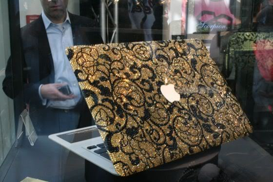 Most Expensive Laptops - Bling My Thing's Golden Age MacBook Air