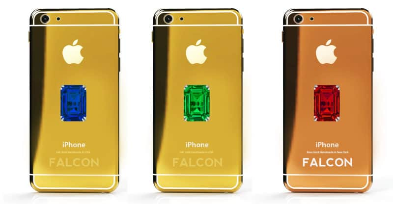 Most Expensive Phones Falcon Supernova iPhone 6 Pink Diamond 800x416 - The 10 Most Expensive Phones in the World