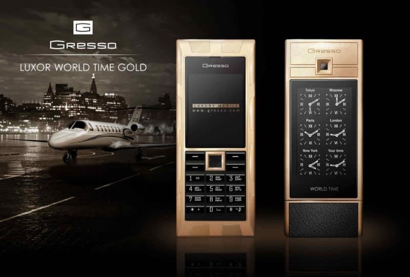 Most Expensive Phones Gresso Luxor Las Vegas Jackpot 800x541 - The 10 Most Expensive Phones in the World