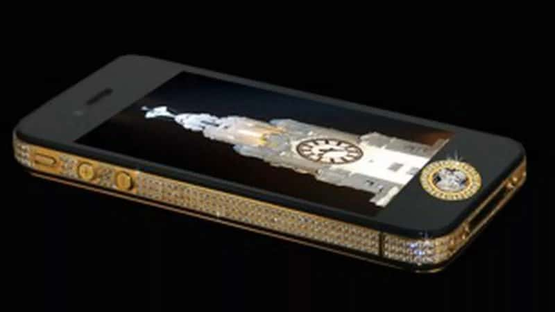 Most Expensive Phones Stuart Hughes iPhone 4s Elite Gold 800x450 - The 10 Most Expensive Phones in the World