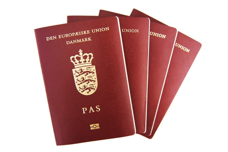 Most Powerful Passports - Denmark