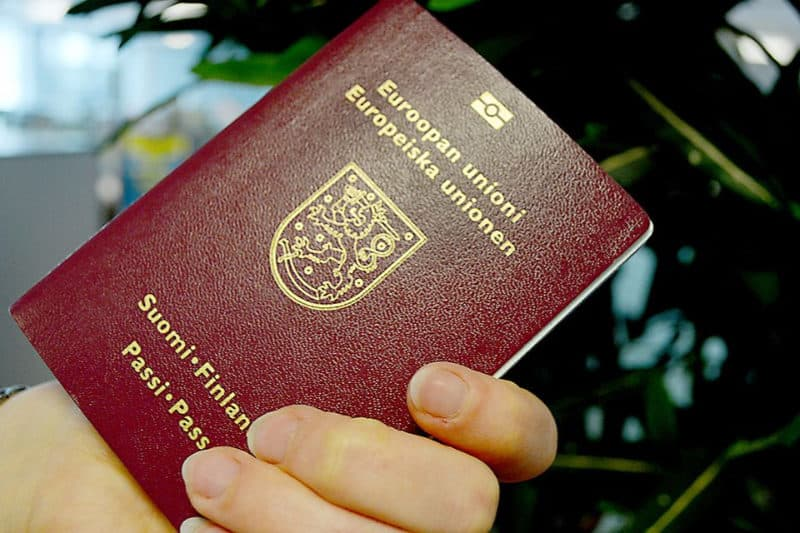 Most Powerful Passports - Finland