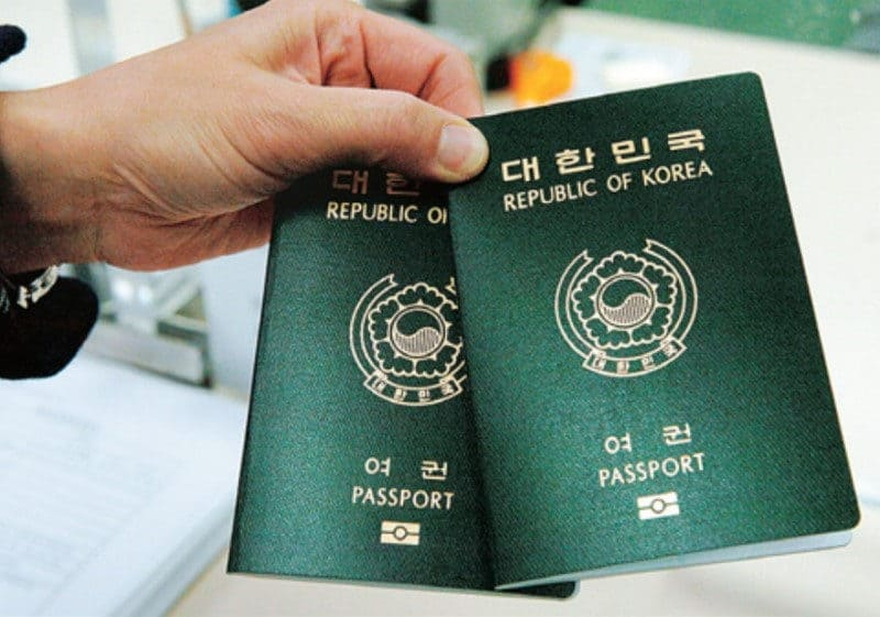 Most Powerful Passports - South Korea