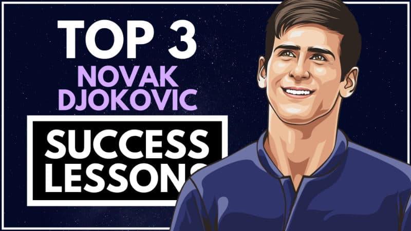 Novak Djokovic Success Lessons